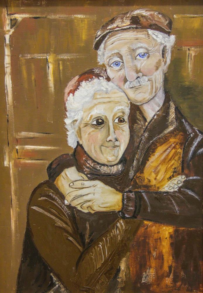 Бабушка с дедушкой. Лали Москалёва