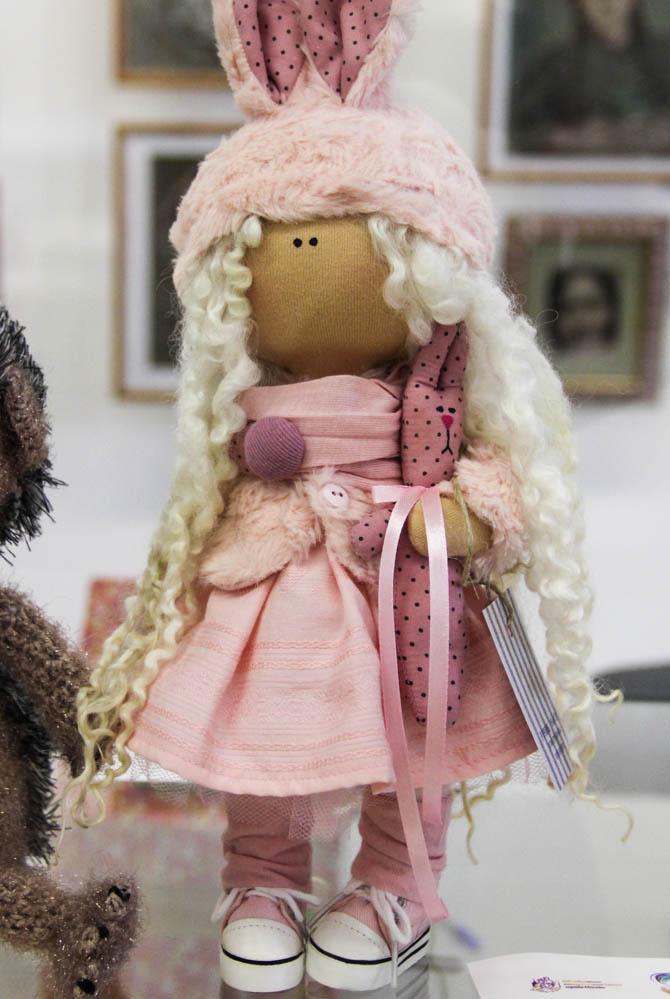 Юлия Григорьева. Кукла ручной работы, сделанная в стиле «Тильда».